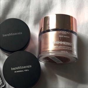 New Bareminerals & L'Oréal makeup